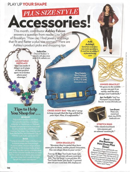 Plus Size Jewelry 1013 PSW Ashley Falcon column REV