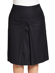 A-Line skirt pulling Marina Rinaldi at Salon Z Saks 83 sale from 415 112913