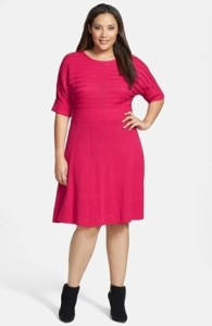 Hip Low hip Eliza J fit & flare dress _8580523 72dpi REV