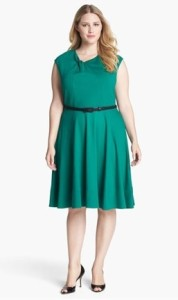 Hip high Eliza J twist neck fit & flare dress_Capture 72dpi REV