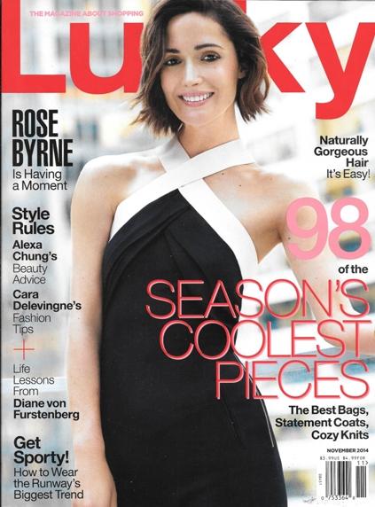 Scale straps Rose Byrne 1114 Lucky wide strap dress REV