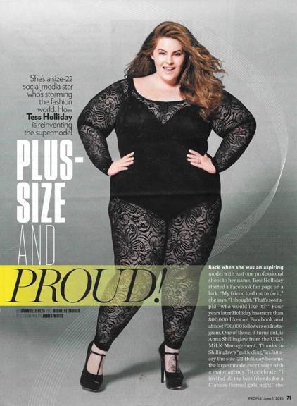 0515 Tess Holliday size 22 plus size model REV