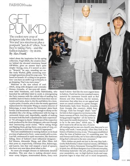 0416 comfort Elle get punked new designers REV