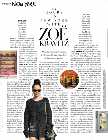0416 comfort Zoe Kravitz in Mar HB shoes in NY REV
