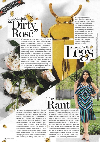 0816 rant re unflattering dress Sept Glamour REV