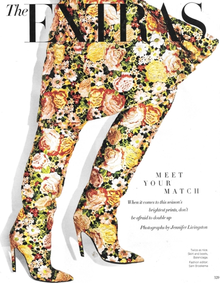 1016 matchy floral print Balenciaga 0916 HB REV
