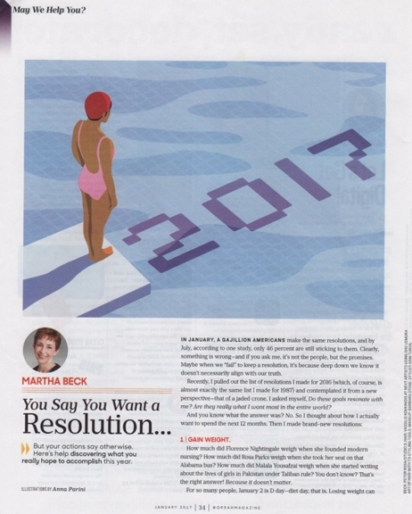 1216 Martha Beck resolutions article entire REV