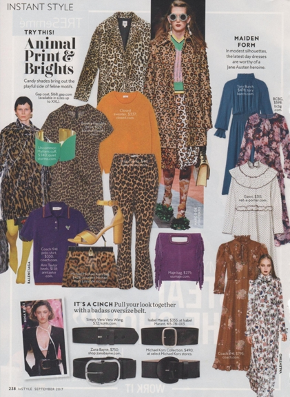 0817 maximalist animal prints InStyle 0917 REV